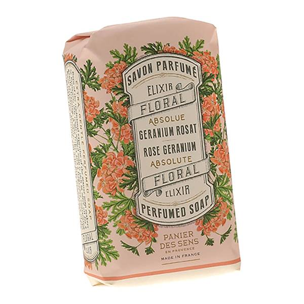 Panier des Sens The Absolutes Rose Geranium Perfumed Soap