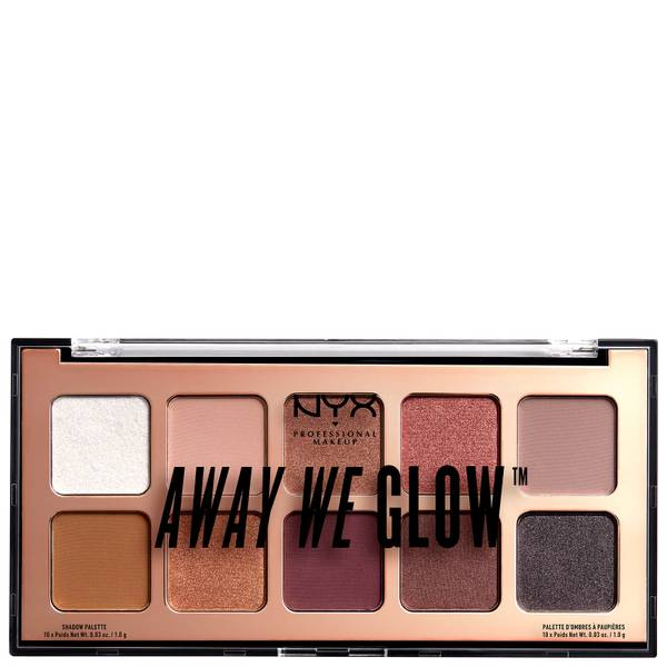 Palettes d'ombres NYX Professional Makeup Away We Glow 10g - Lovebeam
