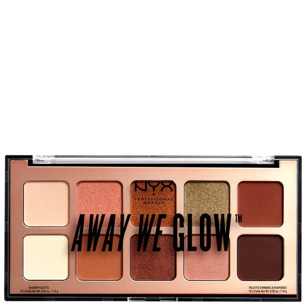 Palettes d'ombres NYX Professional Makeup Away We Glow 10g - Hooked On Glow
