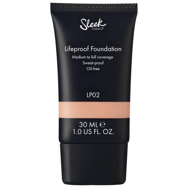Sleek MakeUP Lifeproof Foundation -meikkivoide 30ml (useita sävyjä)