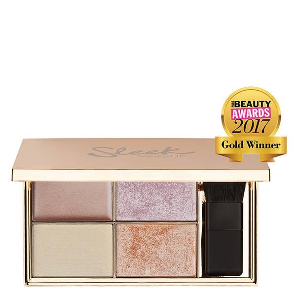 Sleek MakeUP Highlighting Palette paleta rozświetlaczy – Solstice 9 g