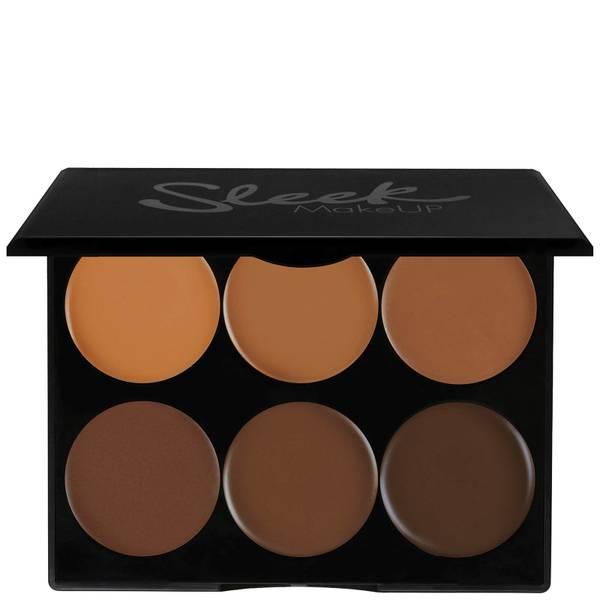 Kit Creme de Contorno da Sleek MakeUP - Muito Escuro 12 g