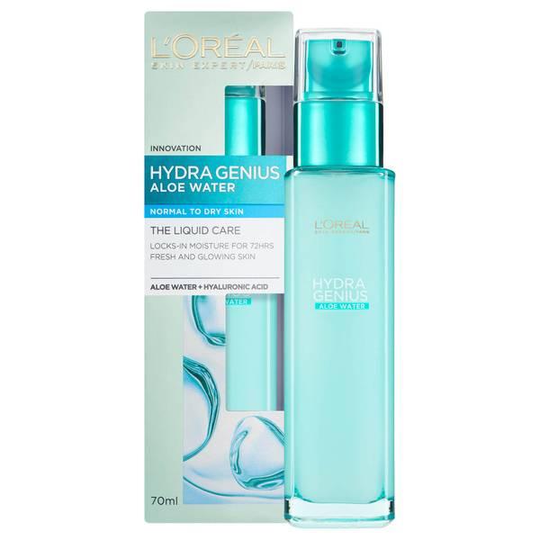 Crema hidratante líquida Hydra Genius para piel normal a seca de L'Oréal Paris 70 ml