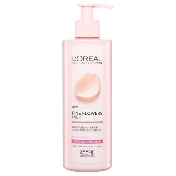 L'Oréal Paris Fine Flowers Cleansing Milk 400ml