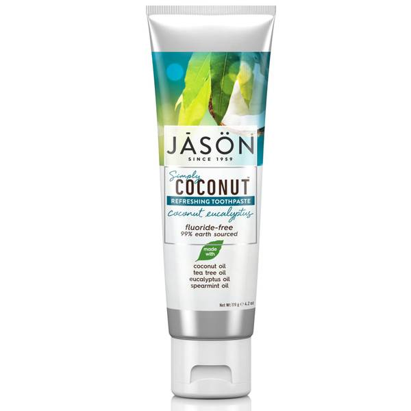 JASON Simply Coconut Refreshing Coconut Eucalyptus Toothpaste 119g