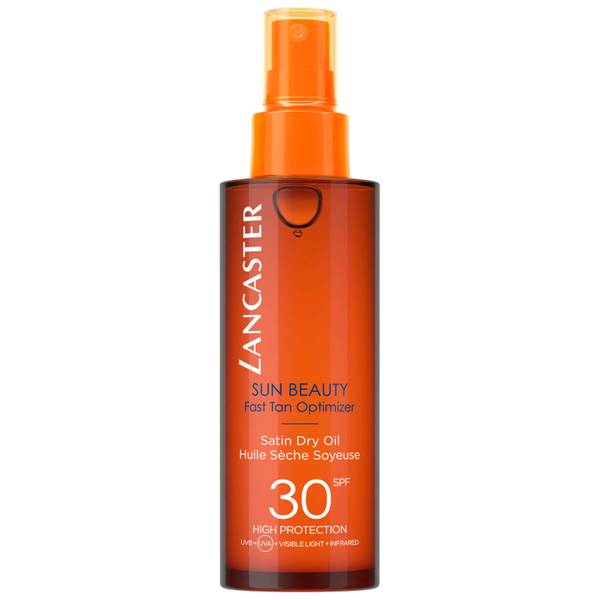 Lancaster Sun Beauty Satin Sheen Oil Fast Tan Optimiser Body SPF30 150ml