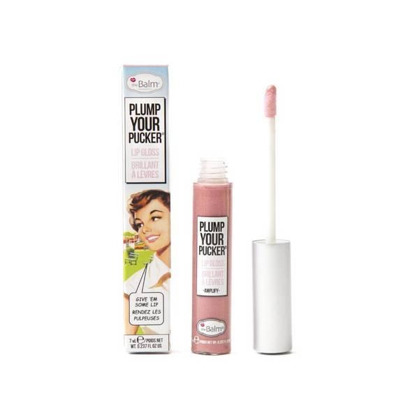 theBalm Plump Your Pucker Lip Gloss (verschiedene Farbtöne)
