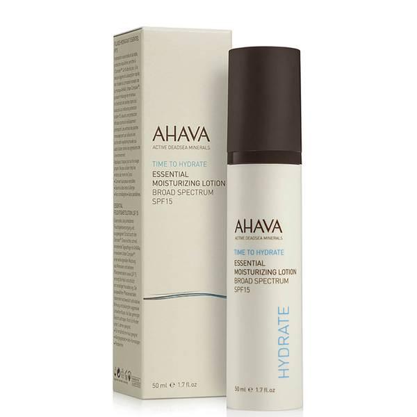 AHAVA Essential Moisturizing Lotion SPF15 50ml