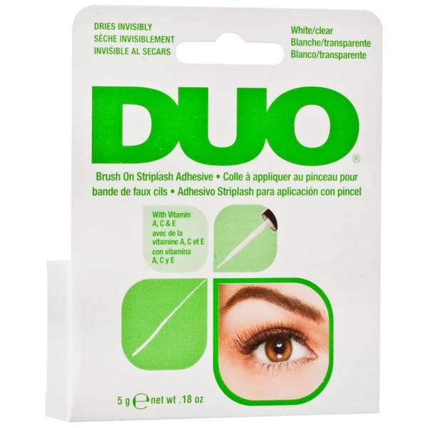 Duo Brush On Striplash Adhesive - White/Clear (5g)