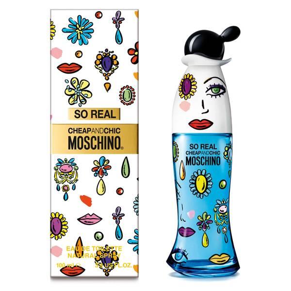 Moschino So Real Eau de Toilette 100ml Vapo