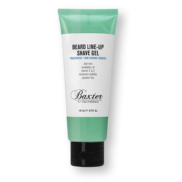 Gel de Barbear Beard Line-Up da Baxter of California 100 ml