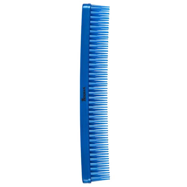 Denman Tame & Tease Styling Comb - Blue (175mm)