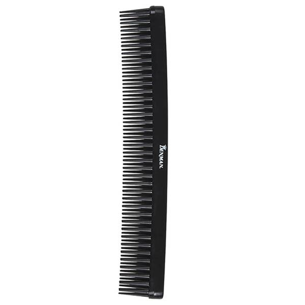 Denman Tame & Tease Styling Comb - Black (175mm)