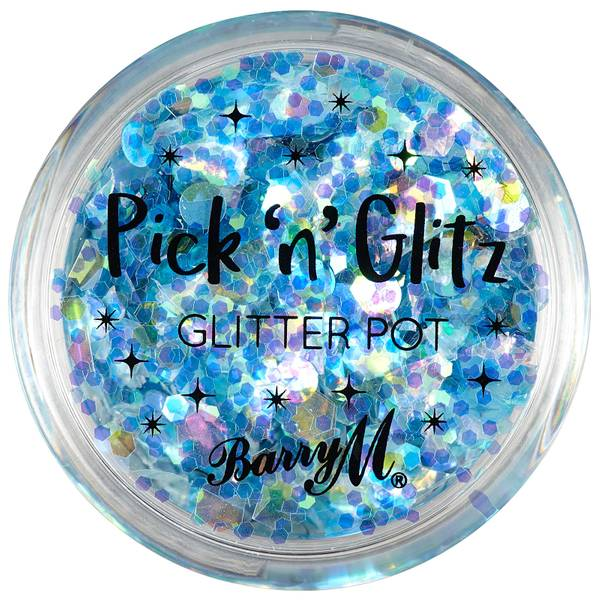 Barry M Cosmetics Pick N Glitz -kasvo- ja vartalokimalle (useita sävyjä)