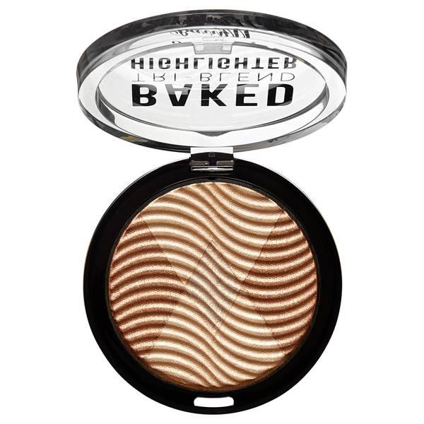 Barry M Cosmetics Tri-Blend Baked Highlighter - Bronze Deco