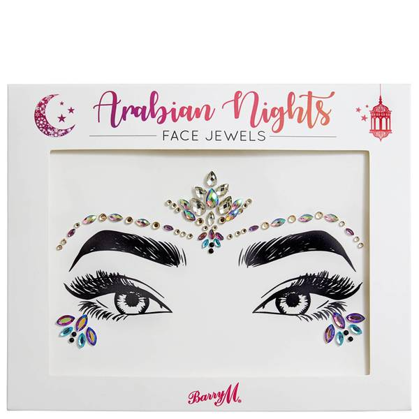 Barry M Cosmetics Face Jewels -koristejalokivet kasvoille, Arabian Nights
