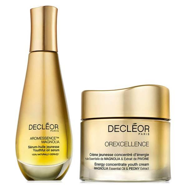 DECLÉOR Aromessence Serum and Youth Cream Duo serum i krem do twarzy – zestaw 2 produktów