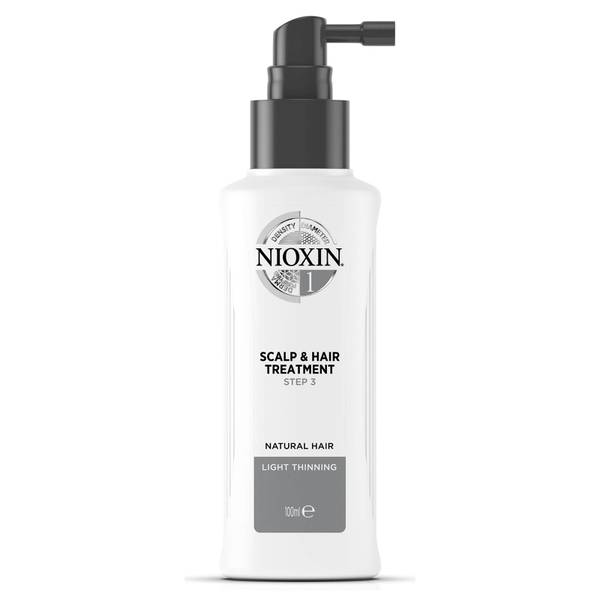 NIOXIN 3-part System 1 Scalp & Hair Treatment for Natural Hair with Light Thinning 100ml