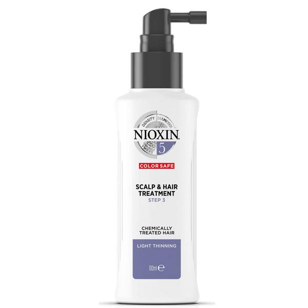 NIOXIN 3-part System 5 Scalp & Hair Treatment for Chemically Treated Hair with Light Thinning 100ml