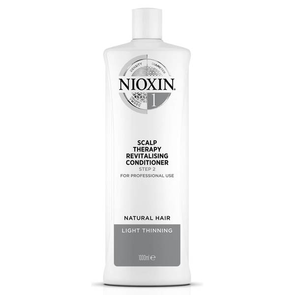 NIOXIN 3-Part System 1 Scalp Therapy Revitalising Conditioner for Natural Hair with Light Thinning 1000ml