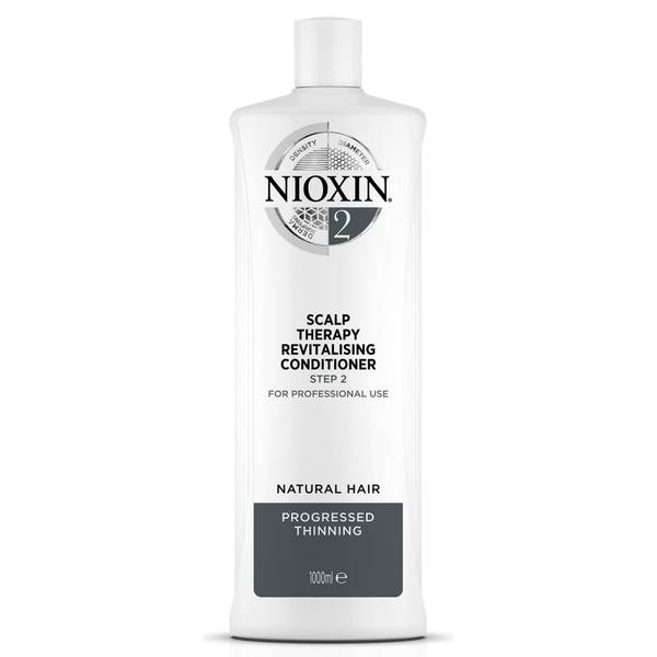NIOXIN 3-Part System 2 Scalp Therapy Revitalising Conditioner for Natural Hair with Progressed Thinning 1000ml