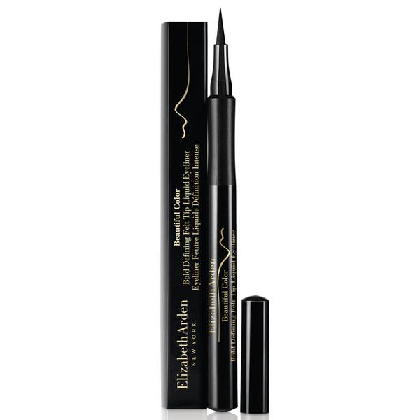 Elizabeth Arden Beautiful Colour Bold Defining Felt Tip Liquid Eye Liner - Seriously Black 1.2ml