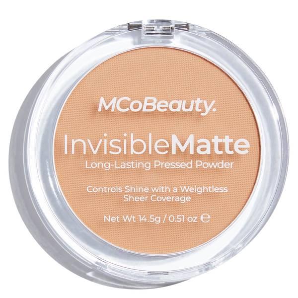 MCoBeauty Invisible Matte Pressed Powder - Nude Beige 14.5g