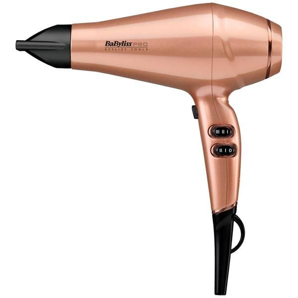 BaByliss PRO 角蛋白護髮吹風機- 玫瑰金