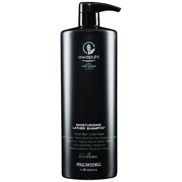 Увлажняющий шампунь-пенка Paul Mitchell Awapuhi Wild Ginger Moisturizing Lather Shampoo 1000 мл