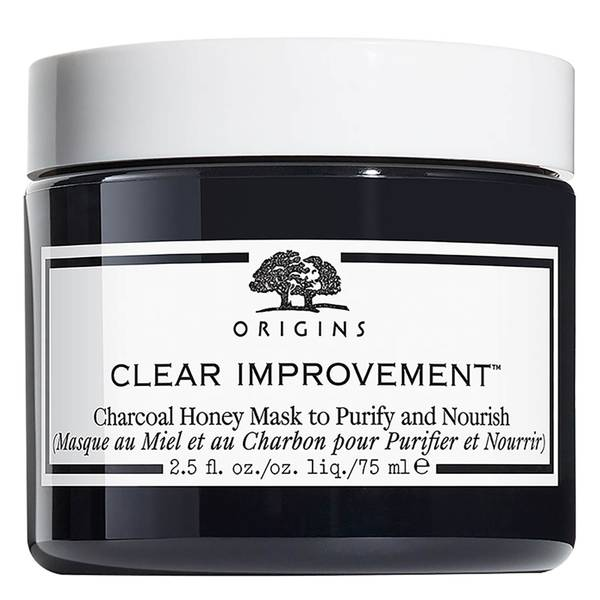 Origins Clear Improvement Charcoal Honey Mask to Purify and Nourish 75ml