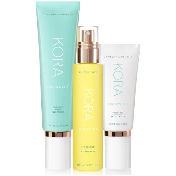 Kora Organics 3 Step System - Oily/Combination (Worth $139.85)