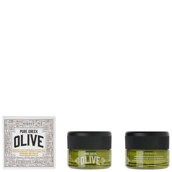 KORRES Natural Pure Greek Olive Moisturising Night Cream 40ml
