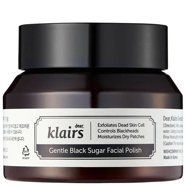Сахарный скраб для лица Dear, Klairs Gentle Black Sugar Facial Polish 110 г