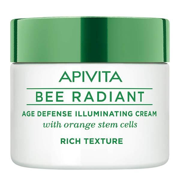APIVITA Bee Radiant Age Defense Illuminating Cream - Rich Texture 50 ml