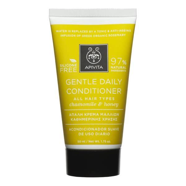 Miniacondicionador para todo tipo de cabello de APIVITA - camomila y miel (50ml)