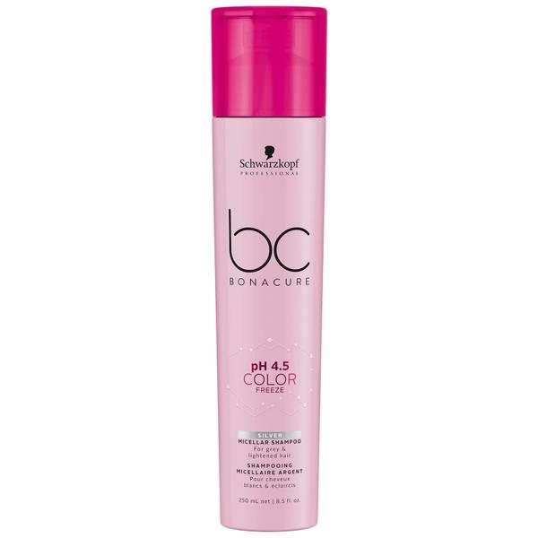 Schwarzkopf Professional BC pH 4.5 Color Freeze Silver Micellar Shampoo 250ml