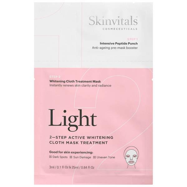 Skinvitals 2 Step Face Mask - Light