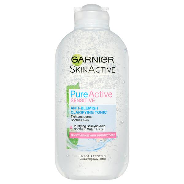 卡尼爾 Pure Active 敏感肌抗痘潔淨化妝水 200ml