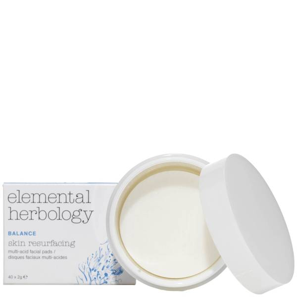 Отшелушивающие подушечки с АНА-кислотами Elemental Herbology AHA Multi Acid Skin Re-Surfacing Pads