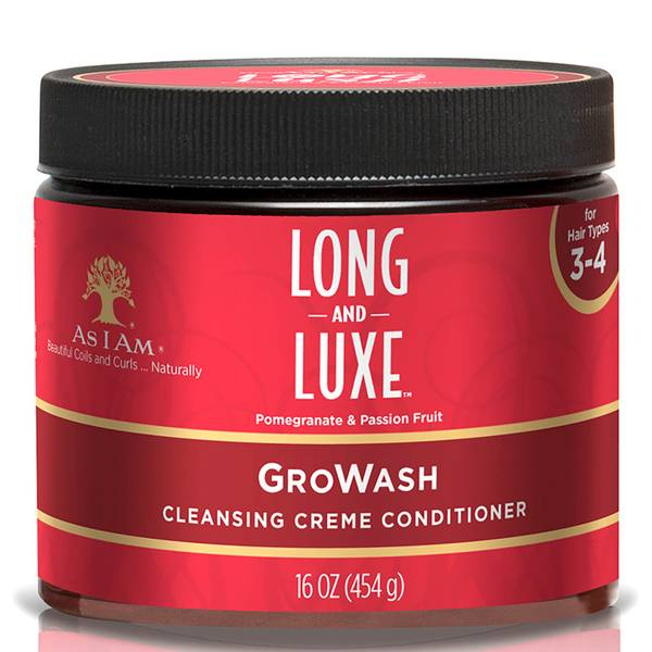 Après-Shampooing Long and Luxe GroWash As I Am 454g
