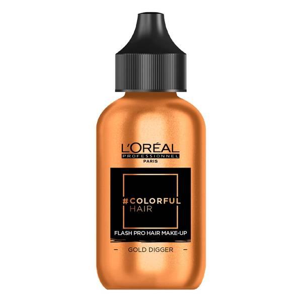 L'Oréal Professionnel Flash Pro Hair Make-Up - Gold Digger 60ml