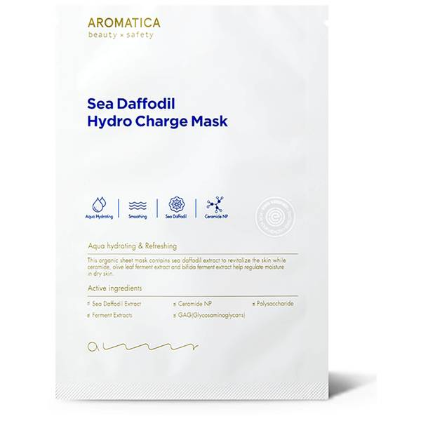 AROMATICA Sea Daffodil Hydro Charge Mask (1EA)