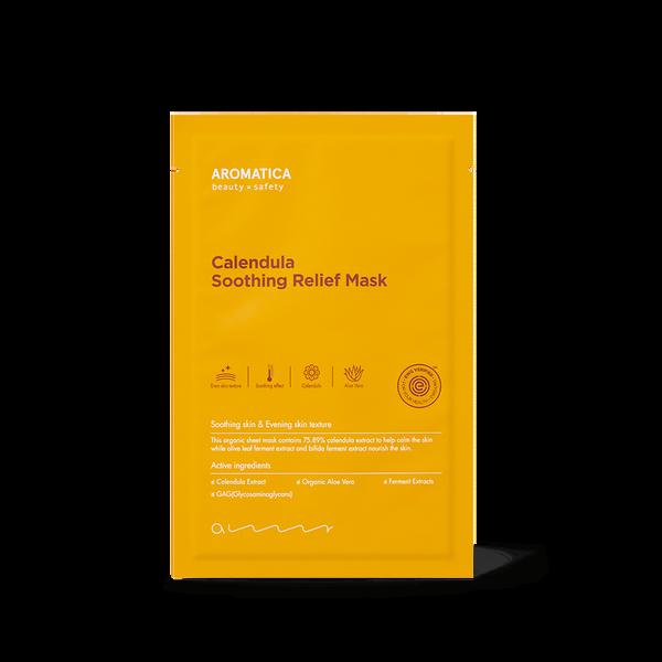 AROMATICA Calendula Soothing Relief Mask (1EA)