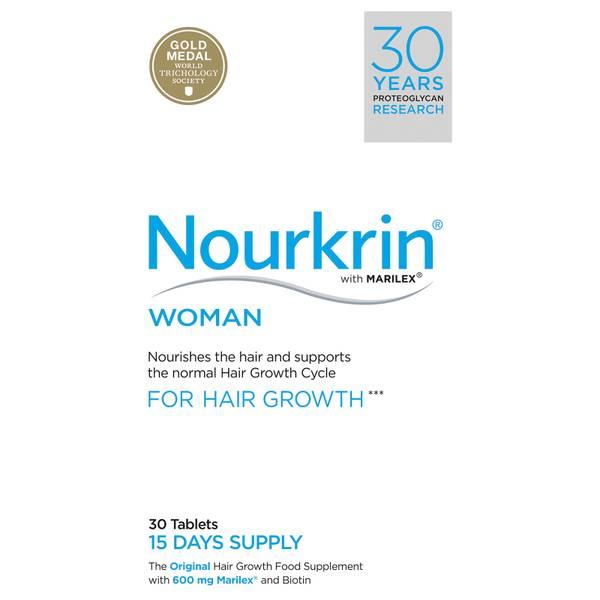 Nourkrin Woman suplement diety odżywiający włosy dla kobiet – 30 tabletki