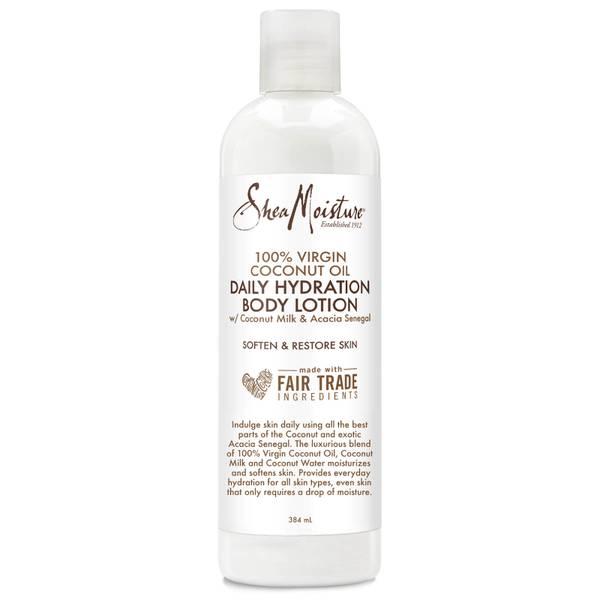 Лосьон для тела Shea Moisture 100% Virgin Coconut Oil Daily Hydration Body Lotion 384 мл