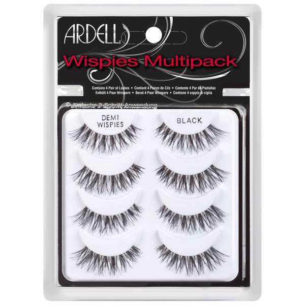 Ardell Demi Wispies False Lashes Multipack (4-pack)