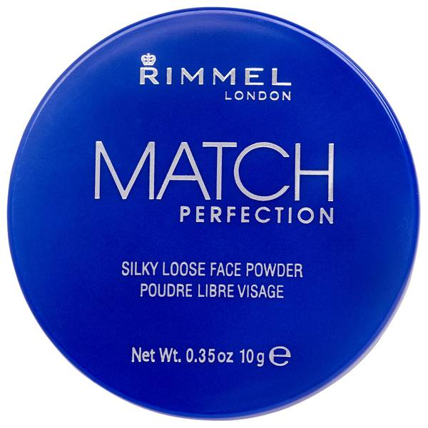 Rimmel Match Perfection Loose Powder - Transparent(림멜 매치 퍼펙션 루스 파우더 - 투명)