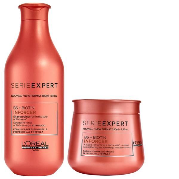 Duo de Shampoo e Máscara Expert Inforcer da L'Oréal Professionnel Serie