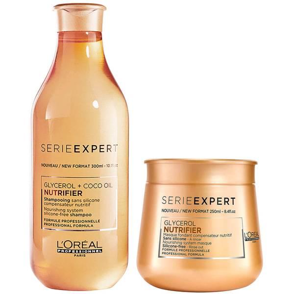 Duo de Shampoo e Máscara Expert Nutrifier da L'Oréal Professionnel Serie