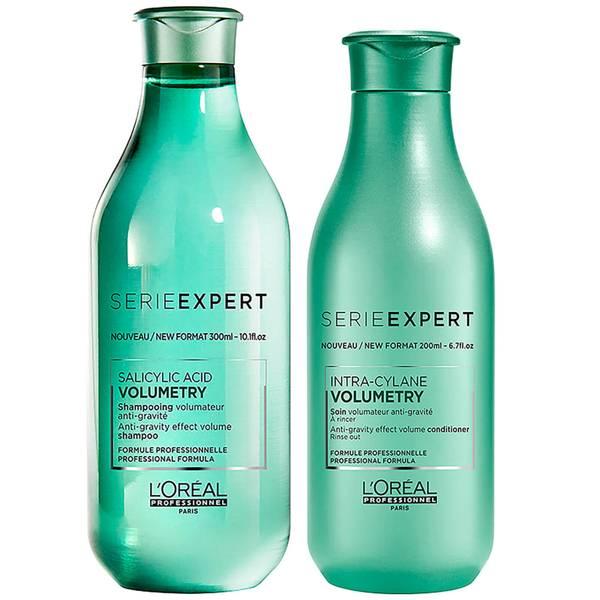 Duo de Shampoo e Condicionador Expert Volumetry da L'Oréal Professionnel Serie